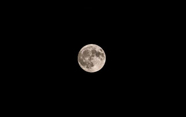 仲秋の満月